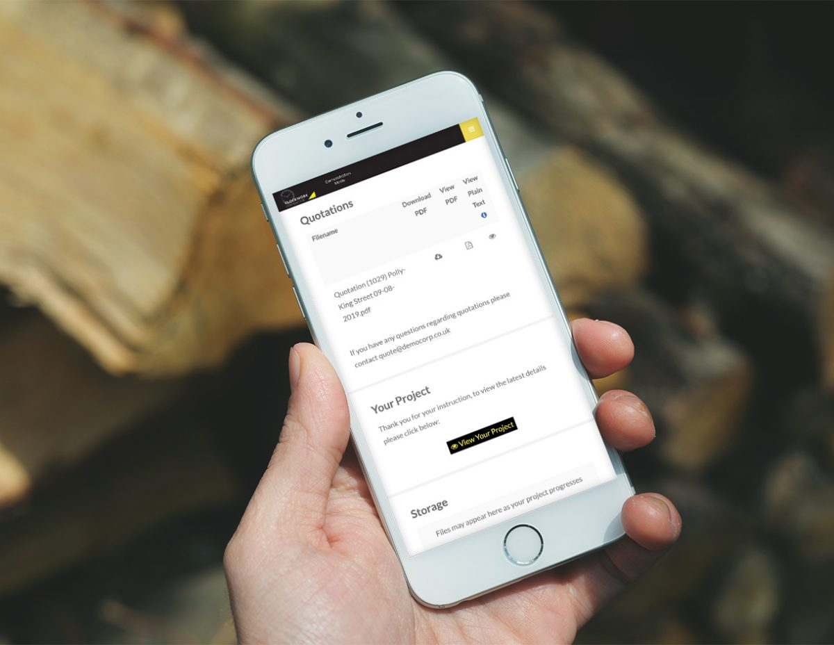 Contact Clockwork Contractor to sign up for a free 7 day trial! Streamline you business the app for contractors